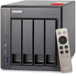 QNAP TS-451+ 4-Bay Next Gen Personal Cloud NAS, Intel 2.0GHz Quad-Core CPU with Media Transcoding TS-451+-2G-US