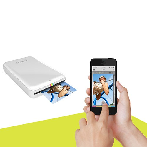 polaroid printer for iphone macmall polaroid zip instant mobile photo printer for 15879
