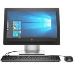 "HP Inc. Smart Buy ProOne 400 G2 Intel Pentium G4400 Dual-Core 3.30GHz All-in-One PC - 4GB RAM, 500GB HDD, 20"" HD IPS LCD Touch, SuperMulti DVD, Gigabit Ethernet, 802.11n, Bluetooth, Webcam P5U56UT#ABA"