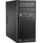 "Hewlett Packard Enterprise ProLiant ML10 v2 Tower Server - Intel Xeon E3-1220 v3 Quad Core 3.1GHz, 4GB RAM, Non-hot Swap 3.5"" HDD Bay, No HDD, No OS 821786-P01"