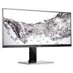 "AOC Professional U3477PQU - LED monitor - 34"" - 3440 x 1440 - IPS - 320 cd/m2 - 1000:1 - 80,000,000:1 (dynamic) - 5 ms - HDMI, DVI-D, VGA, DisplayPort - speakers - black (Open Box Product, Limited Availability, No Back Orders) U3477PQU-OB"