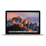 "Apple MacBook 12"" with Retina Display, Intel 1.1GHz Dual-Core Intel Core m3 processor, 8GB RAM, 256GB PCIe-based flash storage & Intel HD Graphics 515 - Gold - Early 2016 MLHE2LL/A"