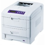 Oki C7350hdn - Printer - color - duplex - LED - 1200 dpi x 600 dpi - up to 26 ppm (mono) / up to 24 ppm (color) - capacity: 630 sheets - Parallel, USB, 10/100Base-TX 62424207