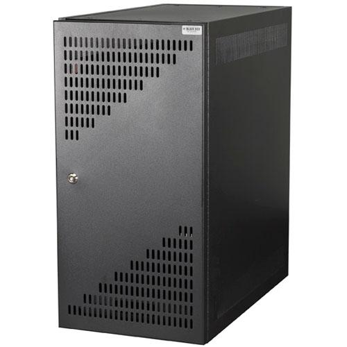 locking computer cabinet macmall black box cpu security cabinet with locking door 22772