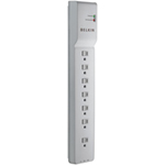 Belkin 7 Outlet Home / Office Surge Protector 6 Cord BE107200-06