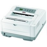 Oki B4600n - Printer - monochrome - LED - A4/Legal - 1200 x 600 dpi - up to 27 ppm - capacity: 250 sheets - parallel, USB, LAN 62427205