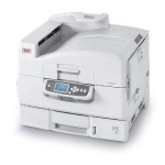 Oki C9650dn - Printer - color - Duplex - LED - Tabloid Extra (12 in x 18 in), 12.9 in x 17.8 in - 1200 x 600 dpi - up to 40 ppm (mono) / up to 36 ppm (color) - capacity: 760 sheets - parallel, USB, Gigabit LAN 62430607