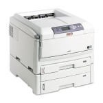 Oki C830dtn - Printer - color - Duplex - LED - A3/Ledger - 1200 x 600 dpi - up to 32 ppm (mono) / up to 30 ppm (color) - capacity: 930 sheets - parallel, USB, LAN 62431606
