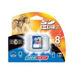 Dane-Elec 8GB High Speed Secure Digital (SD) Flash Memory Card DA-SD-8192-R