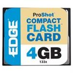 Edge Memory ProShot Flash Memory Card 4GB CompactFlash PE222017