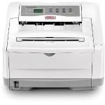 Oki B4600 - Printer - monochrome - LED - A4/Legal - 1200 x 600 dpi - up to 27 ppm - capacity: 250 sheets - parallel, USB 62427202