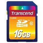 Transcend Flash memory card - 16 GB - Class 10 - SDHC TS16GSDHC10