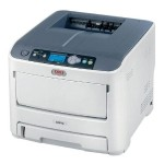 Oki C610cdn - Printer - color - Duplex - LED - Legal - 1200 x 600 dpi - up to 34 ppm (mono) / up to 32 ppm (color) - capacity: 400 sheets - USB, LAN 62433408