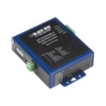 Black Box Industrial Opto-Isolated Serial to Fiber - Short-haul modem - ASCII, serial, Modbus - serial RS-232, serial RS-422, serial RS-485 - terminal block / SC single mode - up to 9.3 miles - 1310 nm - for P/N: ICD11MNT, PS1003 ICD116A