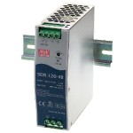 Black Box Din Rail Power Supply 120W/ 48Vdc SDR-120-48