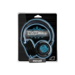 Maxell AMPlified - Headphones - full size - tribal blueglow 190265