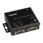 Black Box 2-Port 10/100 Device Server Rs232/4 LES302A