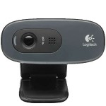 Logitech HD Webcam C270 - Web camera - color - 1280 x 720 - audio - USB 2.0 960-000694
