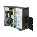 Super Micro SuperWorkstation 7047A-73 - Tower - 4U - RAM 0 MB - no HDD - no graphics - GigE - Monitor : none SYS-7047A-73