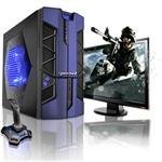 CybertronPC X-Plorer2 Intel Core i5 Quad-Core 2500K 3.30GHz Gaming PC - 16GB RAM, 1TB HDD, DVD+/-RW Dual Layer, Gigabit Ethernet, Blue TGM2101B
