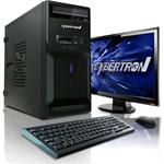 CybertronPC Desktop Essential 3101A Intel Core i3 Dual-Core 2100 3.10GHz System - 4GB RAM, 1TB HDD, DVD+/-RW DL, Gigabit Ethernet TDT3101A