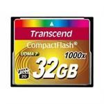 Transcend Ultimate - Flash memory card - 32 GB - 1000x - CompactFlash TS32GCF1000