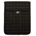 Mobile Edge NeoGrid Tablet Sleeve - Black with Pink Stitching MESST110X