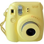 Fujifilm Instax Mini 8 - Instant camera - lens: 60 mm - yellow 16273441
