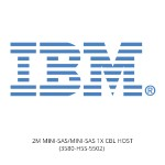 IBM 2M MINI-SAS/MINI-SAS 1X CBL HOST 3580-H5S-5502