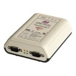Lava Computer Manufacturing Ether-Serial Link WiFi 2-232-DB9 - Device server - 2 ports - RS-232 - 802.11a/b/g ESL 2-232-DB9-WIFI