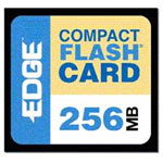 Edge Memory 256MB Premium CompactFlash card PE179472