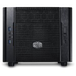 Cooler Master Elite 130 - Ultra small form factor - mini ITX - no power supply ( ATX / PS/2 ) - black - USB/Audio RC-130-KKN1