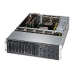 Super Micro Supermicro SC835 BTQ-R1K28B - Rack-mountable - 3U - enhanced extended ATX - SATA/SAS - hot-swap 1280 Watt - black CSE-835BTQ-R1K28B