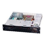 Super Micro Supermicro SC825M S-R700LPB - Rack-mountable - 2U - extended ATX - SCSI - hot-swap 700 Watt - black CSE-825MS-R700LPB