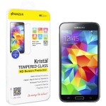 Amzer Kristal - Screen protector - transparent - for Samsung GALAXY S5 AMZ96872